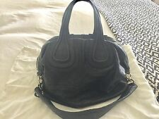 GIVENCHY Nightingale Large Satchel Lambskin Black