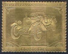 Bernera (L) Voisin 18CV /Vintage Car/Motoring/Transport/cars/Gold 1v s/a s6048f
