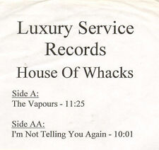 HOUSE OF WHACKS - The Vapours / I'm Not Telling You Again - LUXURY SERVICE