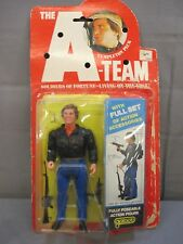 "A-TEAM Soldiers of Fortune ""FACE"" Templeton Peck Action Figure Galoob 1983"