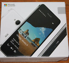 New sealed factory Unlocked Lumia 650 Dual Sim LTE Black Smartphone
