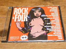 ROCK & FOLK - MONSTER CD 34 !!!RARE CD !!!!!FRANCE!!!!!!