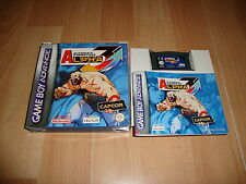 STREET FIGHTER ALPHA 3 DE CAPCOM PARA LA NINTENDO GAME BOY ADVANCE GBA COMPLETO