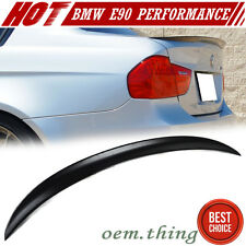 PAINTED BMW E90 3ER 4DR SALOON PERFORMANCE TRUNK BOOT SPOILER 318i 325xi 11