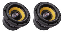 """2 AMERICAN BASS VFL8D4 8"""" 800 WATT DUAL 4 OHM COMPETITION SUBWOOFERS"""