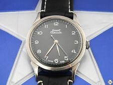 Serviced Vintage Rare Bumper PIAGET Watch AUTOMATIC Fancy ELEGANT DIAL 1950s