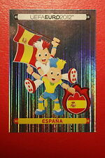 Panini EURO 2012 N. 281 ESPANA MASCOTTE  NEW With BLACK BACK TOPMINT!!