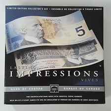 1986 - 2001 $5 Lasting Impressions Banknote Set