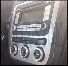 VW PASSAT B6 ENTOURAGES ALU CERCLAGES BOUTONS AERATION VENTILATION CLIMATISATION