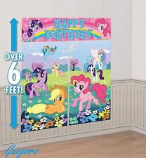 My Little Pony Scene Setter Birthday Banner Decoration party Favor Supplies