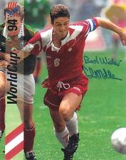 Colin Miller Team Canada Rangers Soccer Football signed 8x10 photo proof w/COA