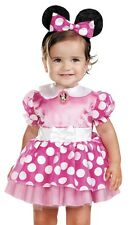 Pink Minnie Mouse Costume Childs Girls Clubhouse Infant Toddler 12-18 Months