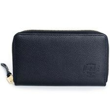 Herschel Supply Co Thomas Leather Wallet black