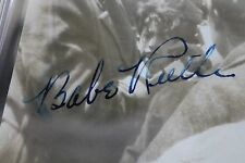 Babe Ruth BOLD Signed 3x4 Photo PSA/DNA AUTO New York Yankees HOF Deceased 1948