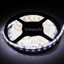 Super White NonWaterproof 5M 3528 SMD 300 LED Light Flexible Strip Light DC 12V