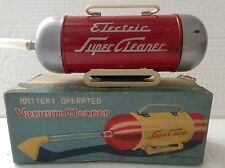 Vintage tinplate Vacuum Cleaner battery operated Japan Boxed