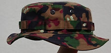 RECCE Hat  Boonie Alpenflage Schweiz / Swiss T83  Camouflage - Made in Germany -