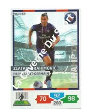 PSG-CH12 IBRAHIMOVIC CHAMPION SWEDEN PARIS.SG CARD ADRENALYN FOOT 2014 PANINI