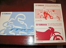 2007 Yamaha TT-R90EW Motorcycle Factory Maintenance/Owner's Manual Set_ORIG! NEW