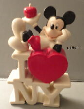 Lenox Disney MICKEY IN THE BIG APPLE I LOVE NEW YORK NY new in box COA