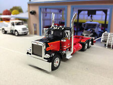 1/64 DCP RED/BLACK 379 PETERBILT DAY CAB