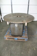 "48"" Rotary Welding Table Positioner Indexer 180 Degree Pneumatic Driven"