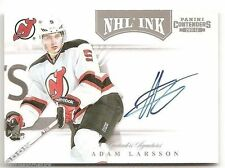 11/12 PANINI CONTENDERS NHL INK AUTOGRAPH Adam Larsson #34