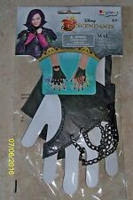 GIRLS DISNEY DESCENDANTS MAL GLOVES COSTUME DRESS ACCESSORY DG94226