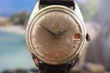Vintage Grey Dial 36mm Stainless Steel Titus Date Hand wind