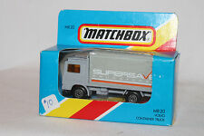 MATCHBOX MB20 VOLVO CONTAINER TRUCK, SUPERSAVE DRUG STORES, BOXED