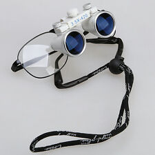 New 3.5X 420mm Dental Surgical Medical Binocular Magnifier Loupes Optical Glass
