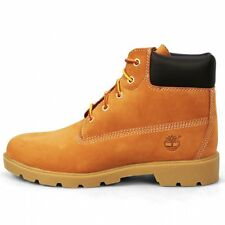 Timberland 6 in Boot Juniors 10960 Wheat Nubuck Boots Shoes Kids Youth Size 5