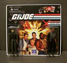 "Custom GI Joe figure set and package  ""Brawn and Bravado""  The A Team  (set # 2)"