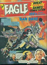 EAGLE weekly British comic book July 9 1983 VG+