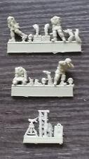 Milicast fig077 British Army Mortar Crew firing britannico mortai equipaggio Steck