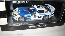MINICHAMPS 1.43 DODGE VIPER GTS-R DAYTONA 24hr 2001 #114  OLD SHOP STOCK