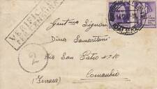 A6581) WW2 CROAZIA, ANNULLO SEBENICO POSTE DALMAZIA SU 50 c. PROPAGANDA.