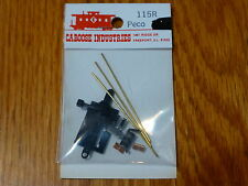 Caboose Industries HO #115  Oper. Ground Throw w/Contact-Peco