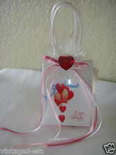 "New My Valentine Music Box Gift Bag - Plays ""My Heart Will Go On"" from Titantic!"