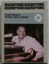 FRANK SINATRA - OL BLUE EYES IS BACK - 1973 QUADRAPHONIC 8-TRACK TAPE - NICE!
