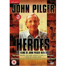 John Pilger Heroes 1970 - 2007 NEW PAL Cult 16-DVD Set