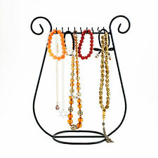 Jewelry Harp Earring Holder and Necklace Rack Fashion Chain Stand Display