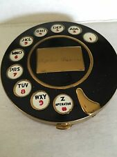 Vintage Telephone Rotary Dial Powder Compact BOOK PIECE (After) Salvador Dali