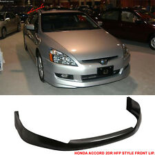 03-05 Honda Accord HFP Style 2Dr Coupe Front Bumper Lip Urethane