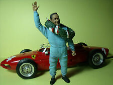 PHIL  HILL  1/18  UNPAINTED  FIGURE  MADE  BY  VROOM   FOR  CMC EXOTO  FERRARI