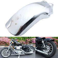 Universal Chrome Motorcycle Rear Fender Mud Guard Metal Mudguard Fender Chopper