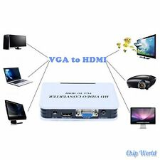 VGA to HDMI Video Converter BOX with Audio Port Analog-digital Conversion 1080P