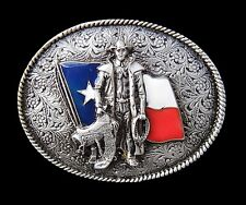 TEXAS FLAG WESTERN RODEO COWBOY COOL MEN'S BELT BUCKLE BOUCLE DE CEINTURE