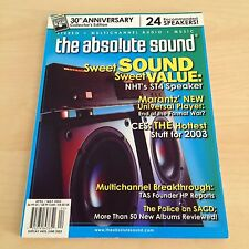 The Absolute Sound Issue 141, 2003 TAS MUSIC 30th Anniversary Collector Review