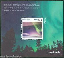 NEVIS 2014  AURORA BOREALIS SOUVENIR SHEET MINT  NH